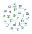 business peoplepresentationtraining icon vector image vector image