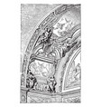 jesuit church rome the main essentials in all the vector image vector image