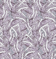 Kelp light purple hatching vector image vector image