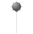 Naval mine vector image vector image