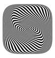 torsion lines texture vector image vector image