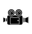 video camera isolated icon vector image