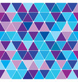 winter triangle pattern 27 vector image vector image