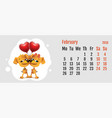2018 year of yellow dog on chinese calendar dog vector image vector image