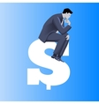 Big money business concept vector image vector image