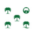 date tree icon vector image