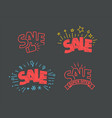 discount shopping tags clipart vector image vector image