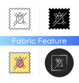 dust mite proof textile quality icon vector image vector image