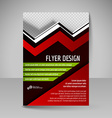 Editable A4 poster for design presentation vector image