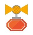 light alert mining caution sign vector image vector image