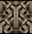 modern embroidery seamless pattern tapestry vector image