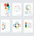 Set of Timeline Infographic Design Templates vector image vector image