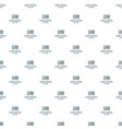 smart building pattern seamless vector image vector image