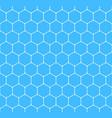 seamless pattern hexagon honeycomb texture vector image