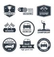 Auto Sport Label vector image vector image