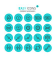 easy icons 11c exchange vector image vector image