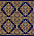 modern geometric seamless pattern abstract dark vector image
