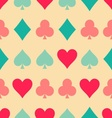 playing cards pattern vector image
