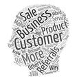 Referrals Build Profits The Best Kind Of Customer