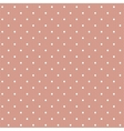 White dotted lace vector image vector image