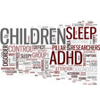 Your adhd child may just be tired text background