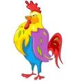 cartoon character chicken vector image