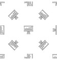 business strategy pattern seamless vector image vector image