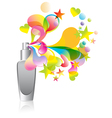 cosmetic splash vector image