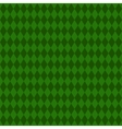 Green rhombus background Seamless pattern vector image vector image