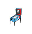 Pinball game arcade console