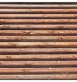 Wooden Logs Background vector image