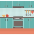 Background of kitchen vector image vector image