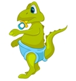 cartoon character dino vector image vector image