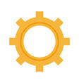 gear working machinery pin progresiruet leading vector image