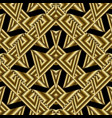 modern gold geometric seamless pattern abstract vector image