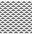 seamless pattern of triangles and dots vector image vector image