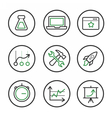 Set of engine optimisation icons vector image vector image
