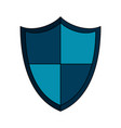 shield protection icon image vector image vector image