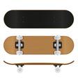 skateboard 02 vector image