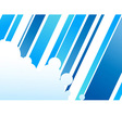 Blue colored abstract corporate concept vector image
