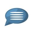 bubble speech talk message communication vector image