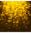 Abstract banner with triangle shapes vector image vector image