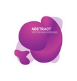abstract blur free form shapes color gradient vector image