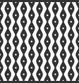 abstract seamless pattern of smooth lines and dots vector image vector image