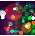 Background Night Lights vector image vector image