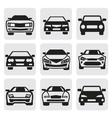 car symbols set vector image vector image