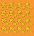 envelopes background design vector image