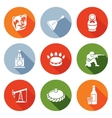 Russian World Icons Set vector image vector image
