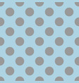 seamless pattern with cute tile grey polka dots vector image vector image