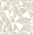 seamless texture with triangles vector image vector image